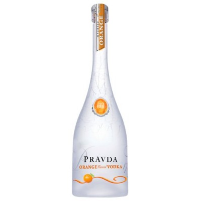 Vodka Pravda Orange - Miniatura - 50ml
