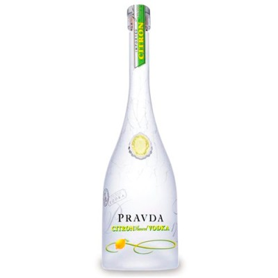 Vodka Pravda Citron - Miniatura - 50ml