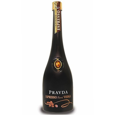 Vodka Pravda Espresso - Miniatura - 50ml
