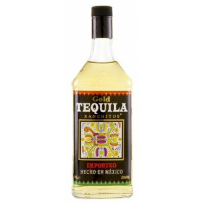 Tequila Ranchitos Ouro - Miniatura - 40ml