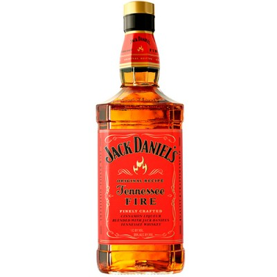 Licor de Whisky Jack Daniels Fire - Cinnamon Liqueur - 1000ml