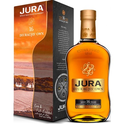 Whisky Jura 16 Anos - Diurachs Own - Single Malt - 700ml