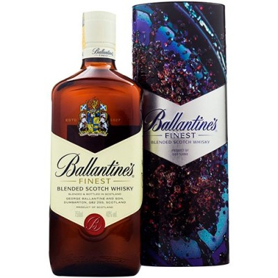 Whisky Ballantines Finest com Lata Exclusiva - 750ml