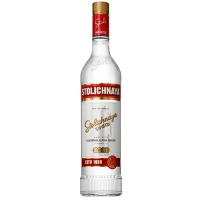 Vodka Stolichnaya Red - 1000ml