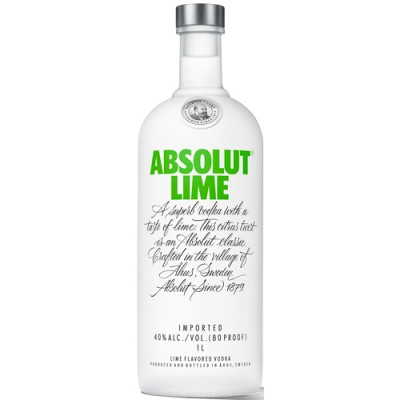 Vodka Absolut Lime - 1000ml