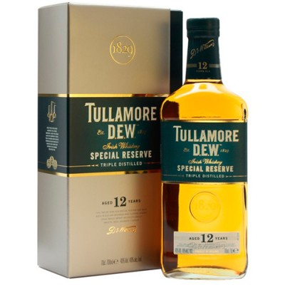Whisky Tullamore DEW Reserva Especial - 12 Anos - 1000ml