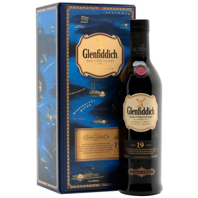 Whisky Glenfiddich 19 Anos - Age of Discovery - Bourbon Cask Reserve - 700ml