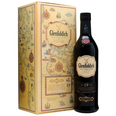 Whisky Glenfiddich 19 Anos - Age of Discovery - Madeira Cask Finish - 700ml