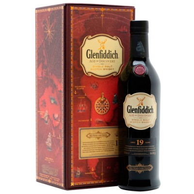 Whisky Glenfiddich 19 Anos - Age of Discovery - Red Wine Cask Finish - 700ml