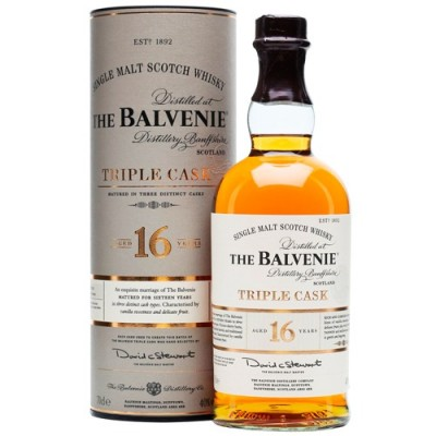 Whisky The Balvenie 16 Anos Triple Cask - 700ml
