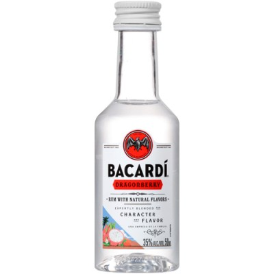 Rum Bacardi Dragonberry - Miniatura - 50ml