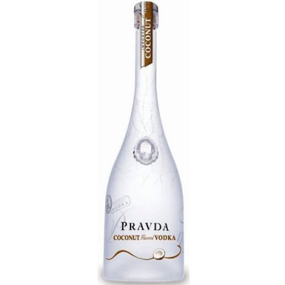 Vodka Pravda Coconut - Miniatura - 50ml