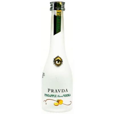 Vodka Pravda Pineapple - Miniatura - 50ml