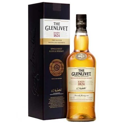 Whisky The Glenlivet The Master Distiller's Reserve - Single Malt - 1000ml