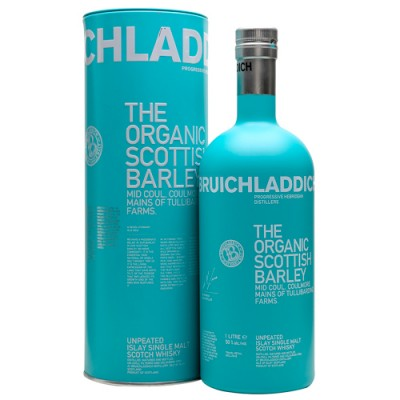 Whisky Bruichladdich The Organic Scottish Barley - Single Malt - 1000ml