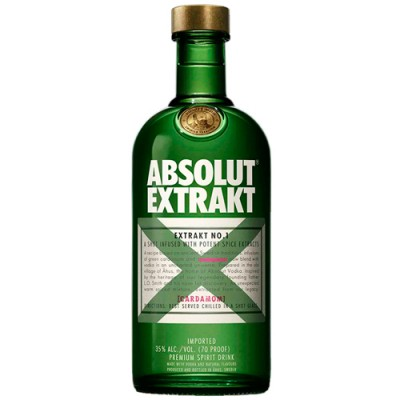 Vodka Absolut Extrakt - 750ml