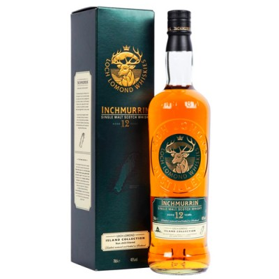 Whisky Loch Lomond 12 Anos Inchmurrin - Single Malt - 700ml