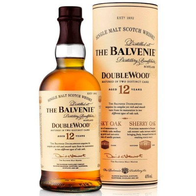 Whisky The Balvenie 12 Anos DoubleWood - Single Malt - 700ml