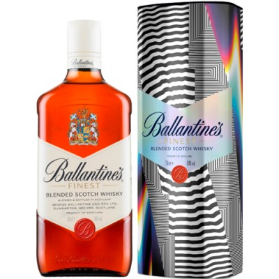 Whisky Ballantines Finest com Lata Exclusiva - Felipe Pantone - 750ml