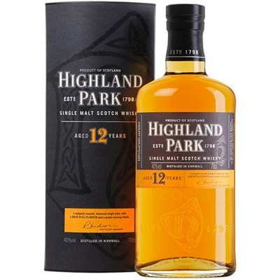 Whisky Highland Park 12 Anos - Single Malt - 700ml