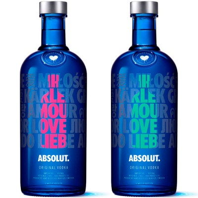 Vodka Absolut Drop - 1000ml