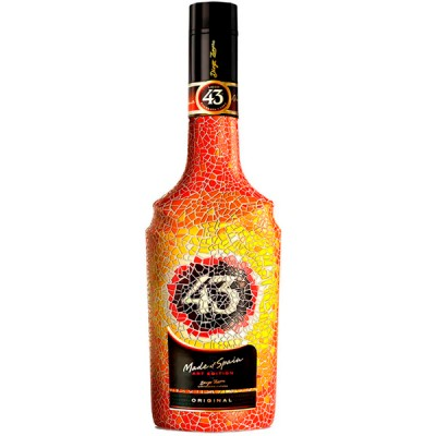 Licor 43 Cuarenta Y Tres - Art Edition - Diego Zamora - 1000ml