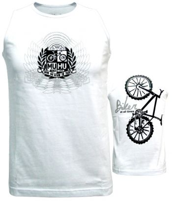 cod.0040<br/>Regata<br/>Biker at all times<br/>Branca