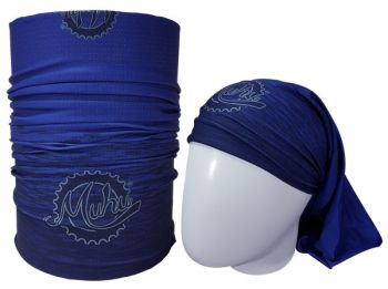 cod. 7051<br>Bandana<br>SOLID COLOR BLUE<br>(Tons de Azul)