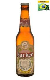Cerveja Backer Pale Ale 355 ml