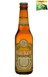 Cerveja Backer Pilsen 355 ml