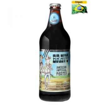 Cerveja Backer 3 Lobos Bravo Imperial Porter 600 ml