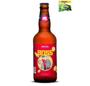 Cerveja Invicta Boss Imperial IPA 500 ml