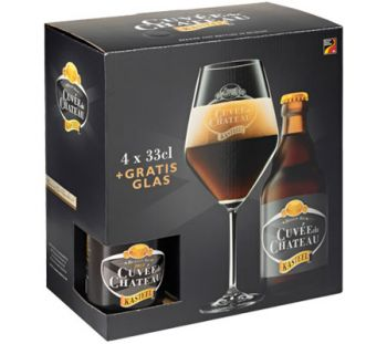 Cerveja Kasteel Cuvee du Chateau 4+1 330 ml - Kit