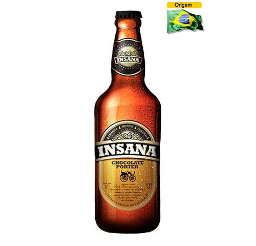 Cerveja Insana Chocolate Porter 500 ml