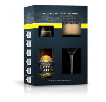 Cerveja Kasteel Cuvee du Chateau 1+1 750 ml - Kit