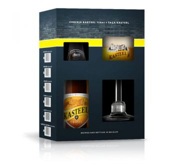 Cerveja Kasteel Tripel 1+1 750 ml - Kit
