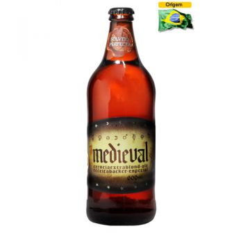 Cerveja Backer Medieval 600 ml
