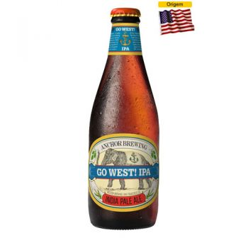 Cerveja Anchor Go West! IPA 355 ml