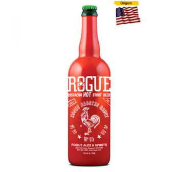 Cerveja Rogue Sriracha Hot Stout 750 ml