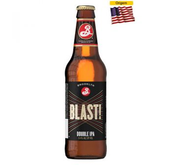 Cerveja Brooklyn Blast Double IPA 355 ml