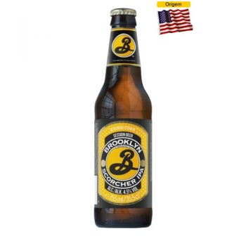 Cerveja Brooklyn Scorcher IPA 355 ml