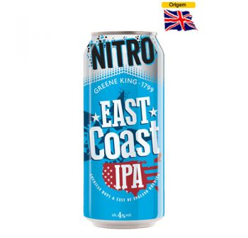 Cerveja Greene King East Coast IPA Nitro 440 ml