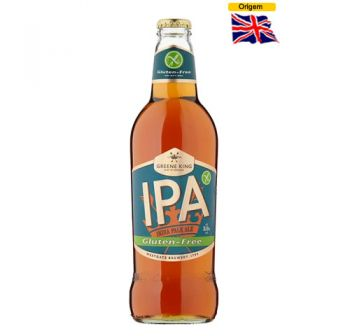 Cerveja Greene King IPA Gluten Free 500 ml