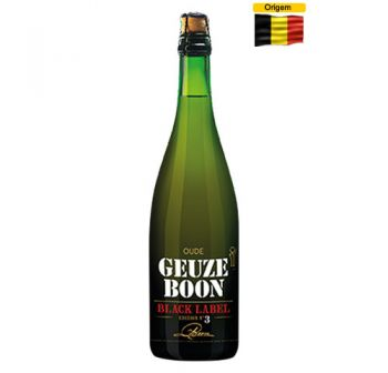 Cerveja Oude Geuze Boon Black Label Second Edition 750 ml