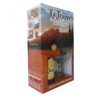 Cerveja La Trappe Quadrupel 330 ml - Kit