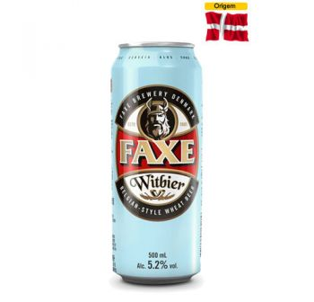 Cerveja Faxe Witbier 500 ml
