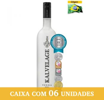 Vodka Kalvelage 750 ml - Caixa com 6