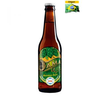 Cerveja Dama Bier Session Lager 355 ml