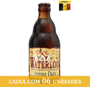 Cerveja Waterloo Strong Dark 330 ml - Caixa com 6