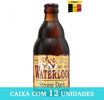 Cerveja Waterloo Strong Dark 330 ml - Caixa com 12
